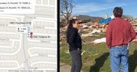 Google Maps les indicó la dirección incorrecta y cuando los dueños de casa llegaron se encontraron con esto