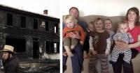 Perdieron a siete hijos en un horrible incendio y milagrosamente la vida se los devolvió