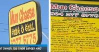 Este letrero que puso el dueño demuestra que este restaurante tiene la peor atención del mundo