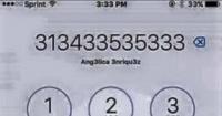 ¿Cuántos 3 puedes ver en esta pantalla de celular? El acertijo que muy pocos pueden resolver