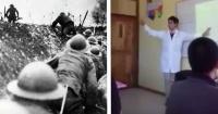 Este profesor de historia enseña sobre la Primera Guerra Mundial pero rapeando y todos lo adoran