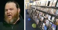 En 2002 arrendó una película que olvidó devolver, 14 años después esto le sucedió