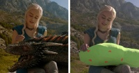 15 escenas cinematográficas antes y después de los efectos especiales