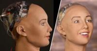 Esta inquietante y hermosa robot amenaza con destruir la humanidad