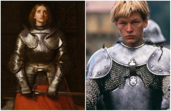 Comparación Juana De Arco y Milla Jovovich