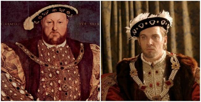 Comparación entre Enrique VIII y Jonathan Rhys Meyers