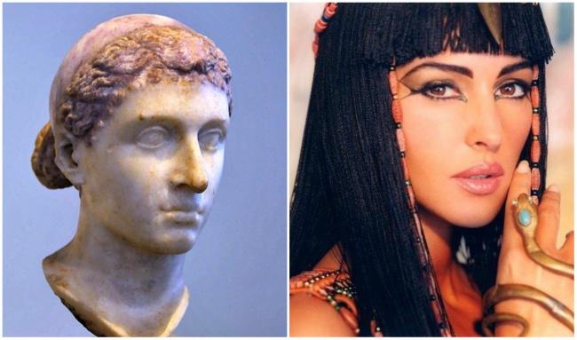 Comparacion Cleopatra y Mónica Bellucci