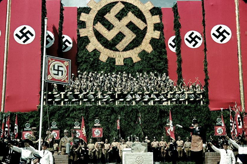 Así era la Alemania Nazi en color