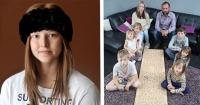 Una familia destrozada encontró consuelo en unmensaje oculto que dejó suhija de 13 años