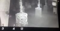Cazafantasmas graba una espeluznante silueta en un parque de juegos para niños