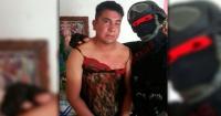 """""""Marino Loko"""": el policía que captura a narcos y los humilla vistiéndolos de mujer"""