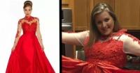Compró el vestido de graduación por Internet y lo que recibió fue una verdadera burla