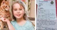 Esta niña le escribió una carta a la policía preguntando algo que a nadie se le había ocurrido