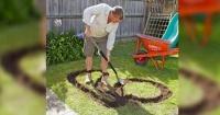 Con este simple juego que puedes hacer en tu jardín, tu hijo no pasará tanto tiempo dentro de la casa