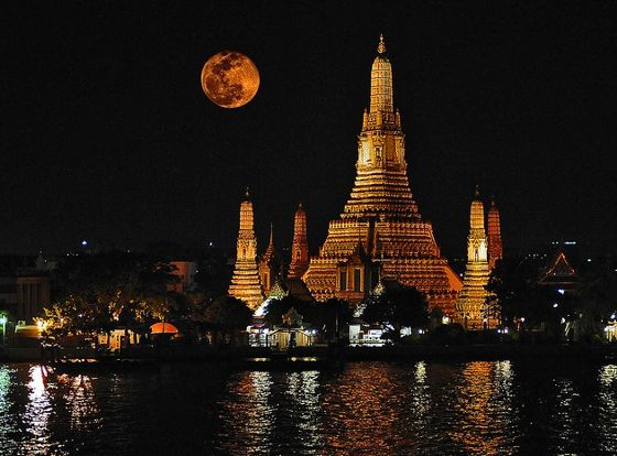 Paisajes de Bangkok