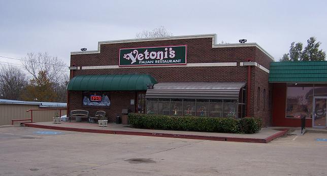 Restaurante italiano Vetoni's.