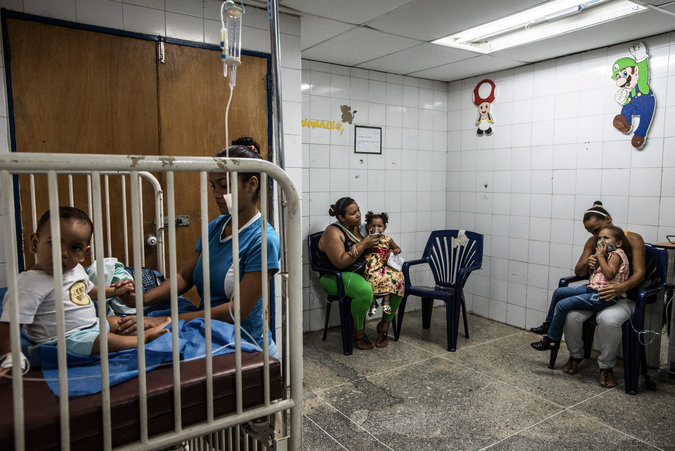 Sala de atención de pediatría
