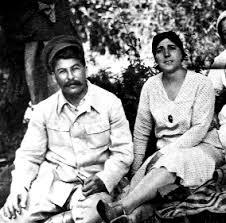 Joseph Stalin y Nadezhda Alilúyeva