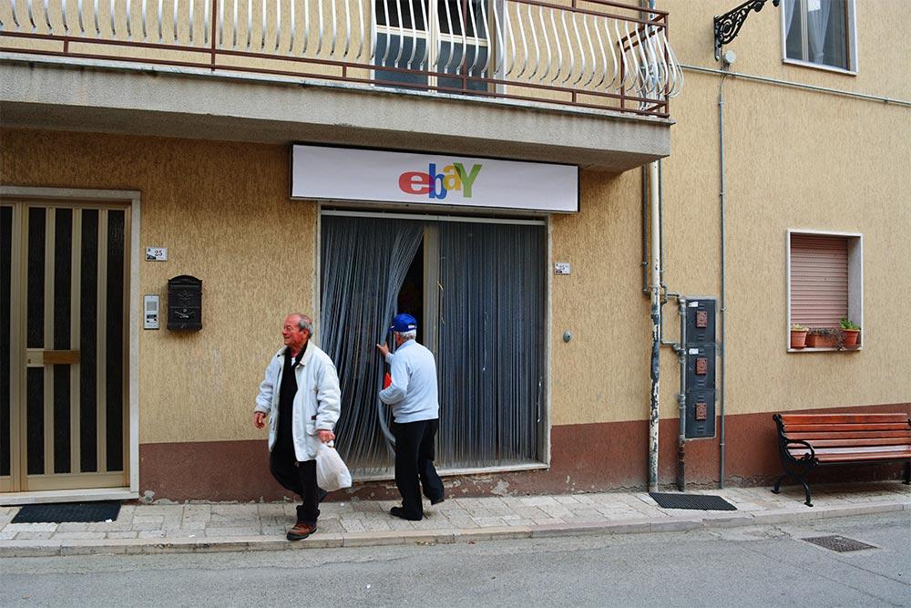 Ebay es convertido en un almacén real