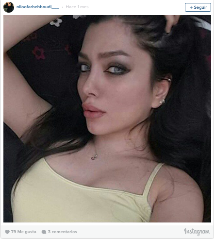 Niloofar Behboudi en Instagram