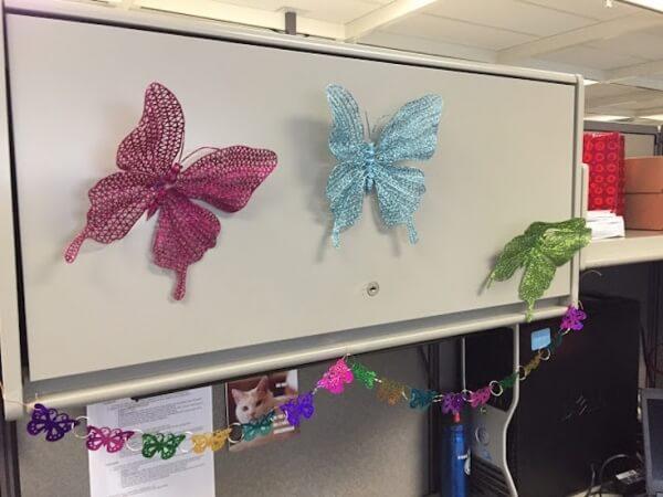 Puesto de Zoe decorado