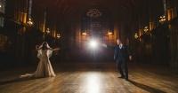 Esta pareja se casó al estilo de Harry Potter y el resultado fue MÁGICO