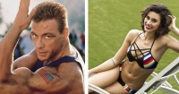 ¡De temer!: La hija de Jean Claude Van Damme que sigue los pasos de su padre