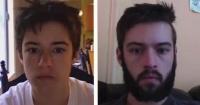 Se sacó más de 3 mil fotos durante 8 años y demostró como cambia el rostro de un adolescente