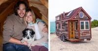 Dejaron sus trabajos y construyeron con su propias manos una casa rodante para viajar