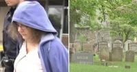Profesora es detenida mientras tenía relaciones sexuales con un alumno en el cementerio
