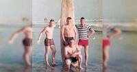 En 1966 estos héroes de guerra se tomaron una foto en la playa, 50 años más tarde esto ocurrió