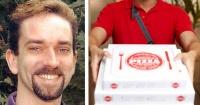 Hace 11 días que no ordenaba una pizza y eso le salvó la vida