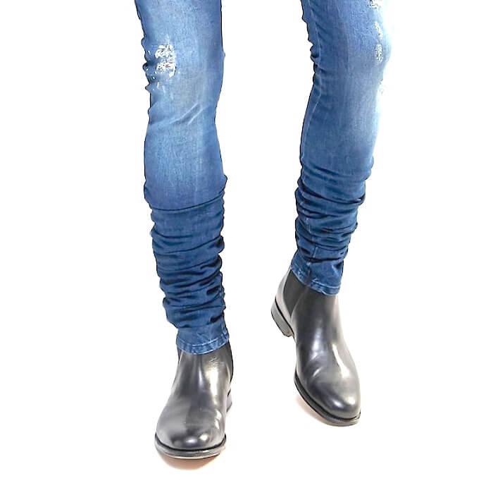 Foto de cómo deben usarse los pantalones