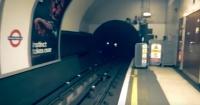 Graban supuesto fantasma en el metro de Londres