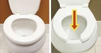¿Por qué algunos inodoros tienen forma de herradura? Esta es la explicación