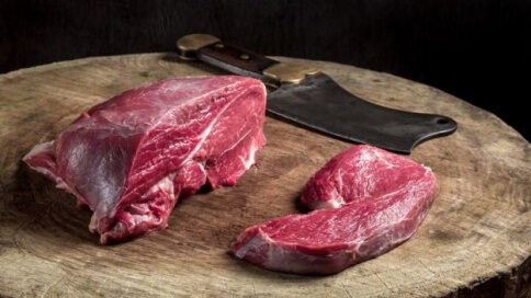 Trozos de carne