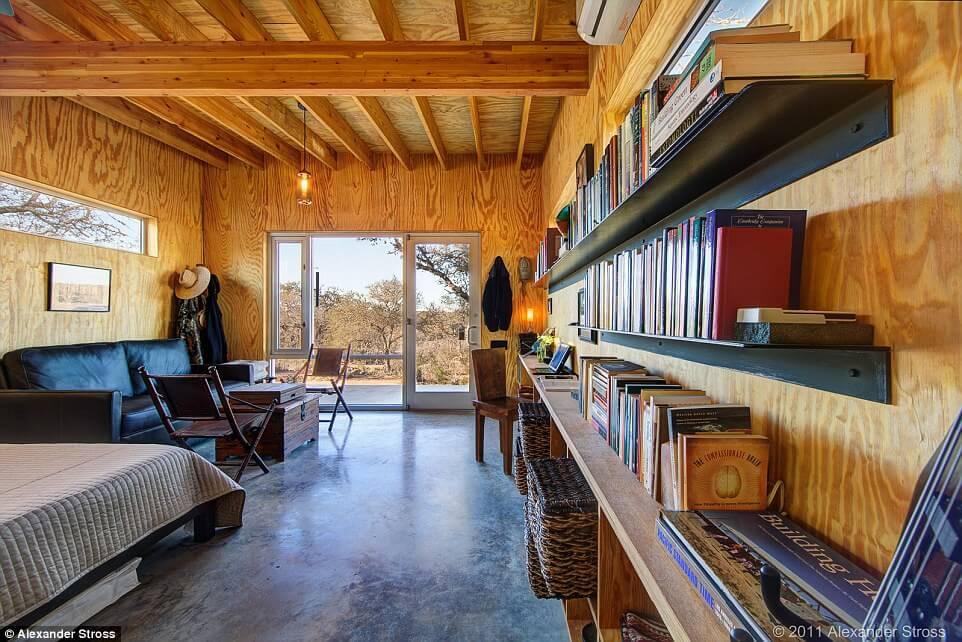 Interior de las casas