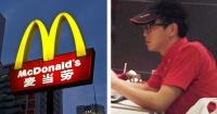 Este cajero de un local de comida rápida hizo algo impensado con un cliente y todos lo aplauden
