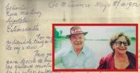La carta que fue escrita hace 64 años y muestra cómo un hombre se declaraba a una mujer