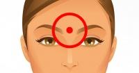 Esto es lo que pasa cuando masajeas este punto entre tu nariz y tu frente
