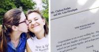 Esta pareja invitó a los Obama a su boda como broma y recibieron una inesperada respuesta