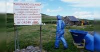 Durante casi 50 años nadie la pisó y todo el que hoy visita esta isla, podría considerarse muerto