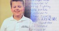"""""""Me rendí"""": la desgarradora carta de un niño que decidió suicidarse tras sufrir bullying"""