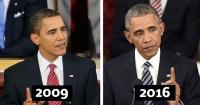 Así es como envejecieron estos 10 presidentes de Estados Unidos durante su mandato