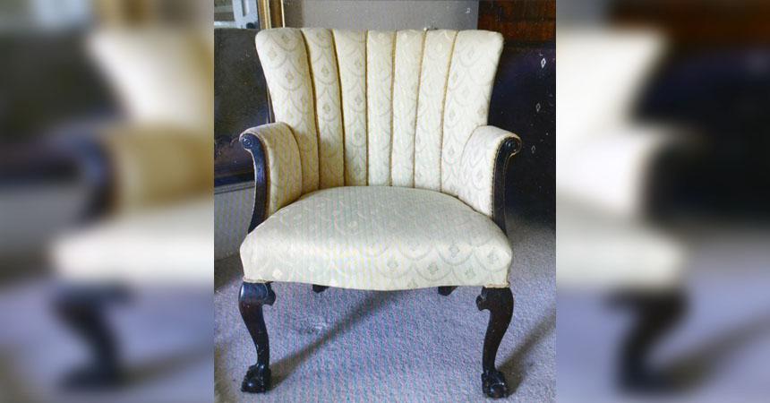 Hace 10 a os compraron una vieja silla por 6 d lares y - Aticos en silla ...