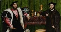 Esta pintura de 1533 esconde algo muy extraño que solo puedes ver cuando la miras de otro ángulo