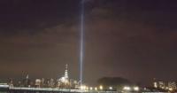 Tomó una foto del homenaje a las víctimas del 11-S y cuando la revisó no podía salir de su asombro