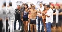Boxeador vive bochornoso momento tras desnudarse para el pesaje