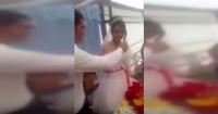 "Matrimonio se arruina en 15 minutos por una inocente ""broma"" de la novia"