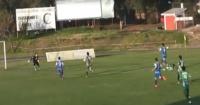 """Perro se """"disfraza"""" de arquero y evita gol en pleno partido de fútbol"""